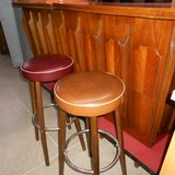 """Vintage """"Formica"""" Bar & 2 Stools      Article number: 058639 in Ramstein, Germany"""