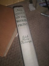 All Quiet on the Western Front - Erich Maria Remarque (HC, 1930, Grosset) in Fairchild AFB, Washington