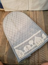 LNC,  Quilted Polyester Blender Cover in Country blue with Lace Trim in Warner Robins, Georgia