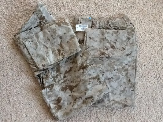 USMC Desert Digital MARPAT Uniform (MCCUU) | Military Stuff for sale