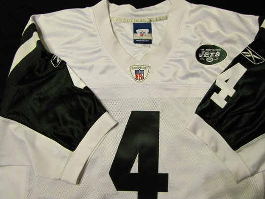 size 40 7dde1 97703 Brett Favre signed jersey (NY Jets) (Read profile for more ...