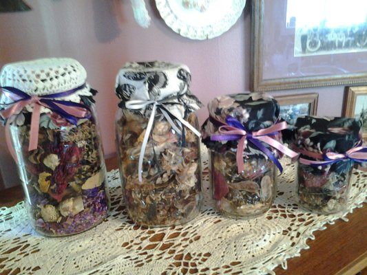New Potpourri Filled Decorative Mason Jars Dollar Days Home