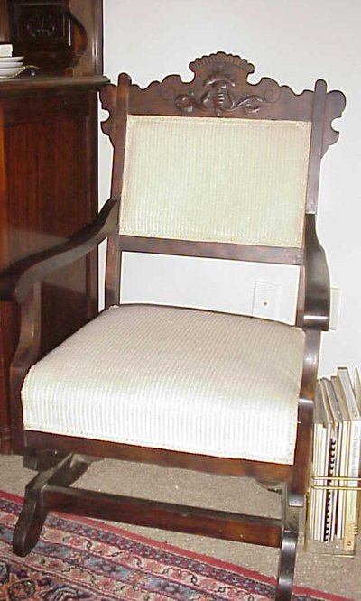 Antique Rocking chair..Platform type in Warner Robins - Antique Rocking Chair..Platform Type Antiques - By Owner For Sale