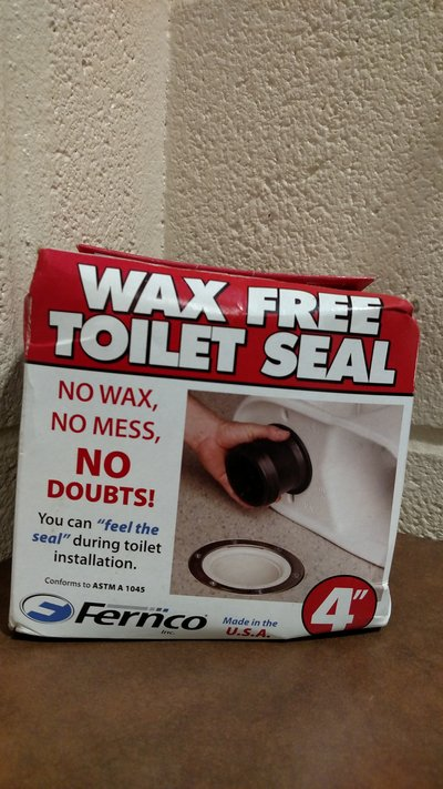 Fernco Inc  FTS-4 4-Inch Wax Free Toilet Seal (T=6