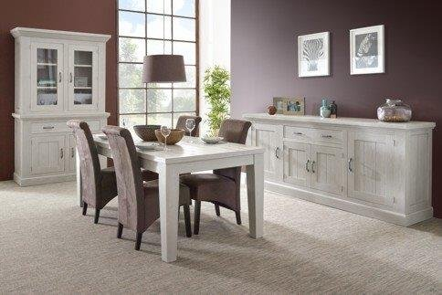 Harvest Dining Set  China Cabinet +Table + 4 Chairs Including Delivery |  Furniture: Home   By Dealer For Sale On Ansbach Bookoo!