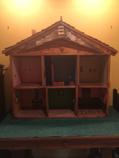 Antique Handmade Wood Doll House Antiques By Owner For Sale On