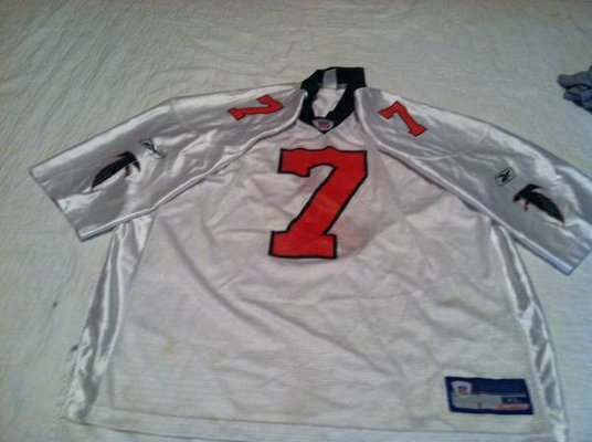 meet 024a4 120aa Michael Vick Atlanta Falcons Jersey Reebok Authentic XL ...