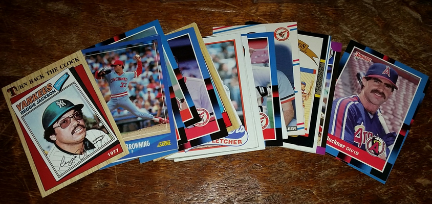 Rare Baseball Cards Reggie Jackson And 25 Others Everything Else