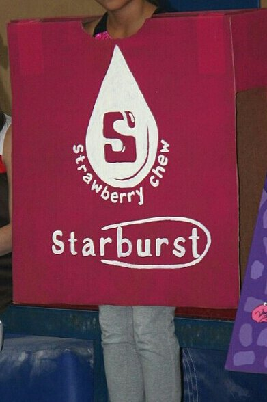 Homemade Halloween Costume - Starburst Candy in Naperville