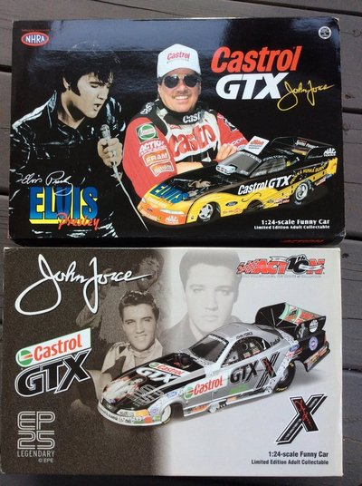 """Funny Cars: John Force """"Elvis""""   Collectibles for sale on"""