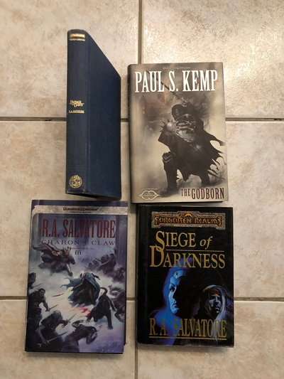 Forgotten Realms Hardcover Books (D&D) | Books for sale on Ramstein