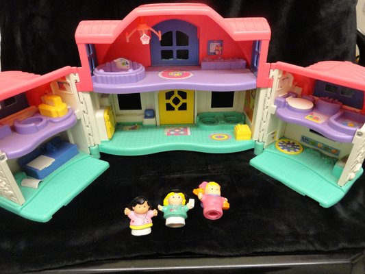 Fisher Price Little People Pink House Baby Kids For Sale