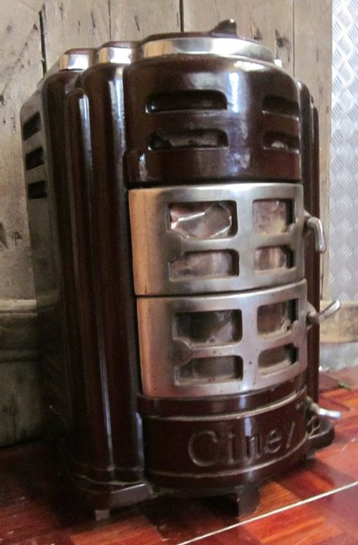 Small Antique Wood Or Coal Burning Stove Furniture Home By
