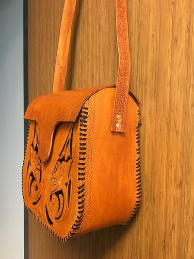 New Handcrafted Leather Purse Purses
