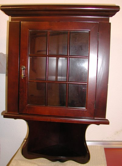 Corner Wall Cabinet By Bombay Company Furniture Home By Owner