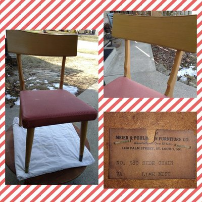 Mid Century Chair In Plainfield