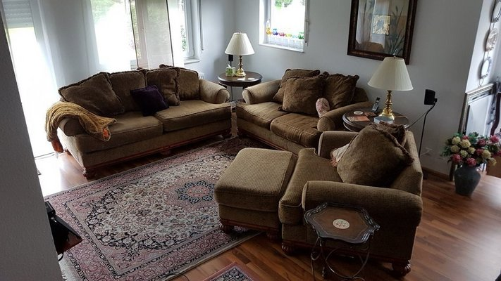 Good Living Room Set By Brookwood In Ramstein