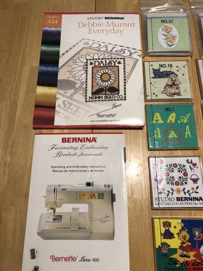 Bernina Embroidery Machine Bundle Arts Crafts For Sale On