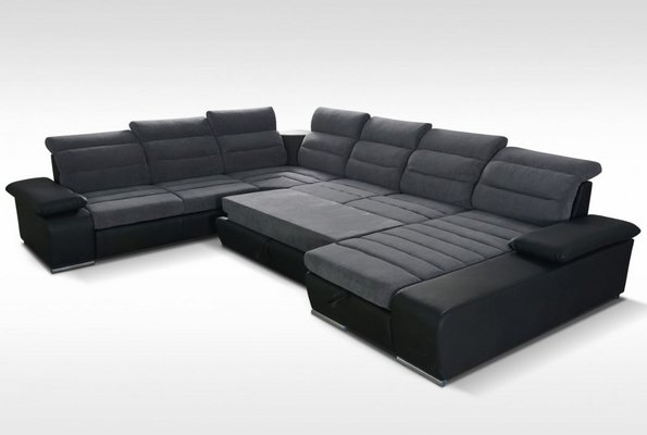 Super United Furniture Venice Sectional 2 With Bed And Storage Squirreltailoven Fun Painted Chair Ideas Images Squirreltailovenorg