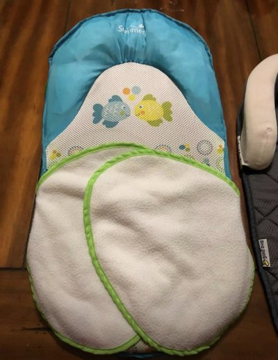 b5dc349e54a Summer Infant Bath Sling With Warming Wings 1 Set and Goldbug Air Flow Baby  Head