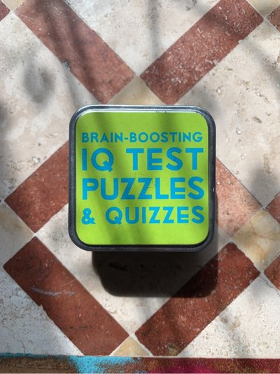 Brain Boosting IQ test puzzle cards | Toys & Games for sale