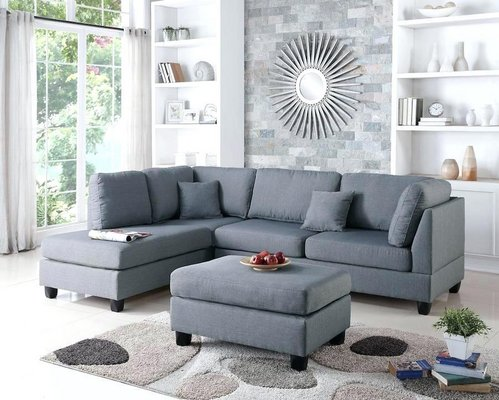Prime New Urban Comfy Grey Sofa Chaise Sectional With Storage Gmtry Best Dining Table And Chair Ideas Images Gmtryco