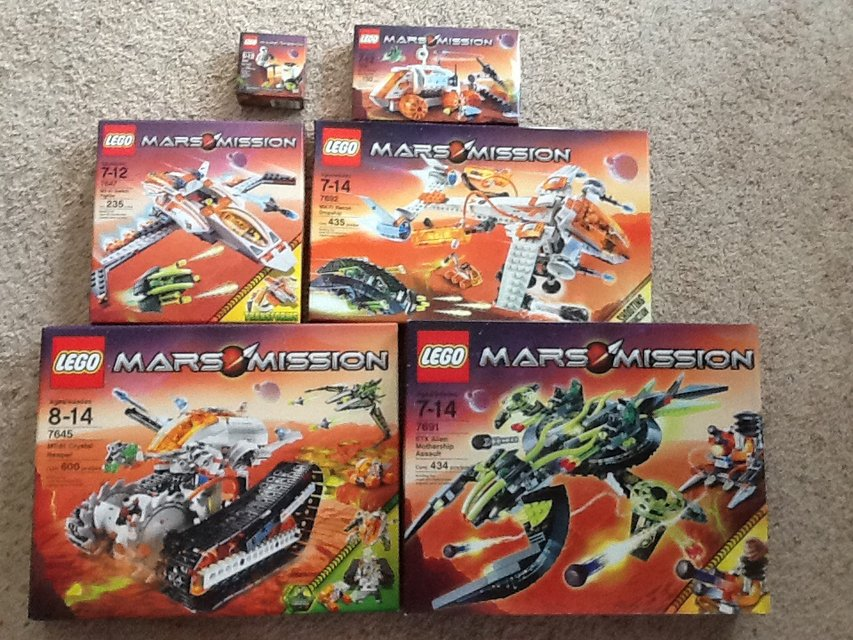 Mars Mission LEGO Collection | Hobby for sale on Lejeune ...