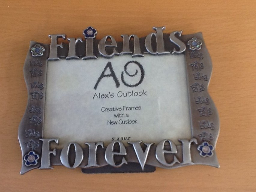 New Friends Forever 5x3 5 Silver Frame Home Decor For