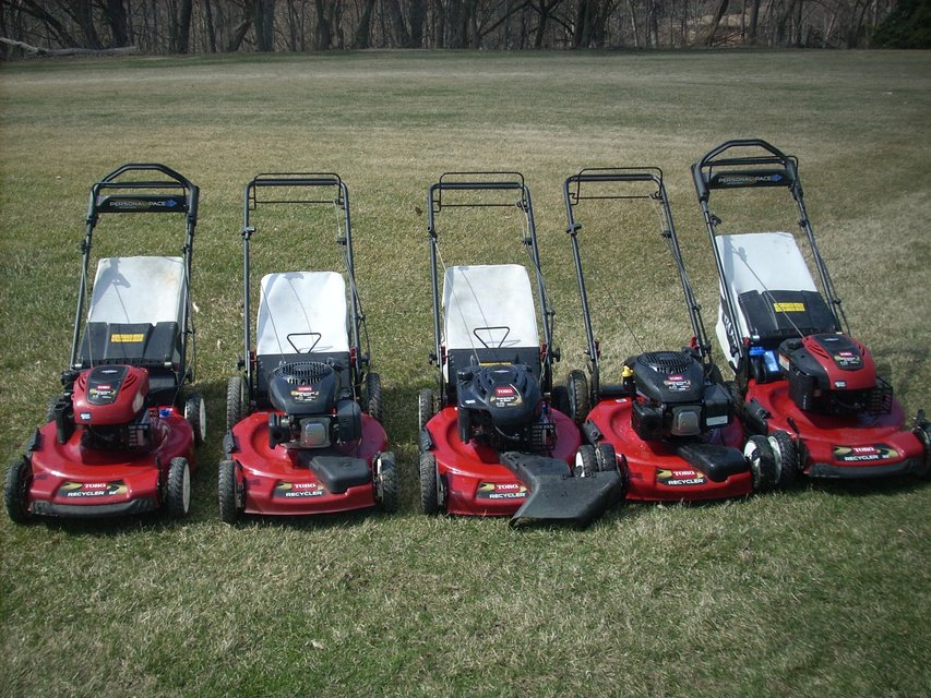 Wow Toro Amp Honda Lawn Mowers Personal Pace Front Self
