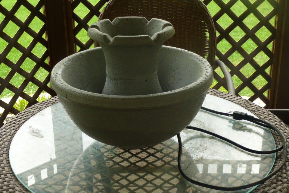 Tabletop Fountain Seasonal Holiday For Sale On Naperville Bookoo