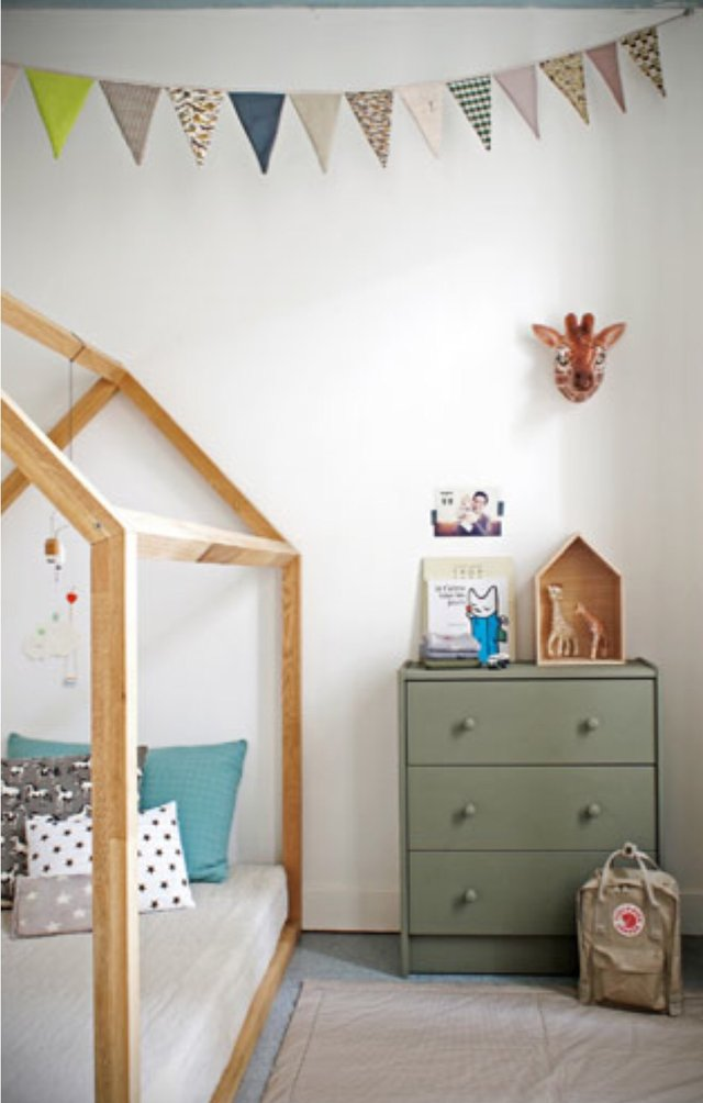 Wood Bed Frame Kids Baby Toddler Bed | Furniture: Home   By Owner For Sale  On Lejeune Bookoo!
