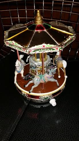 Mr Christmas Single Deck Merry Go Round