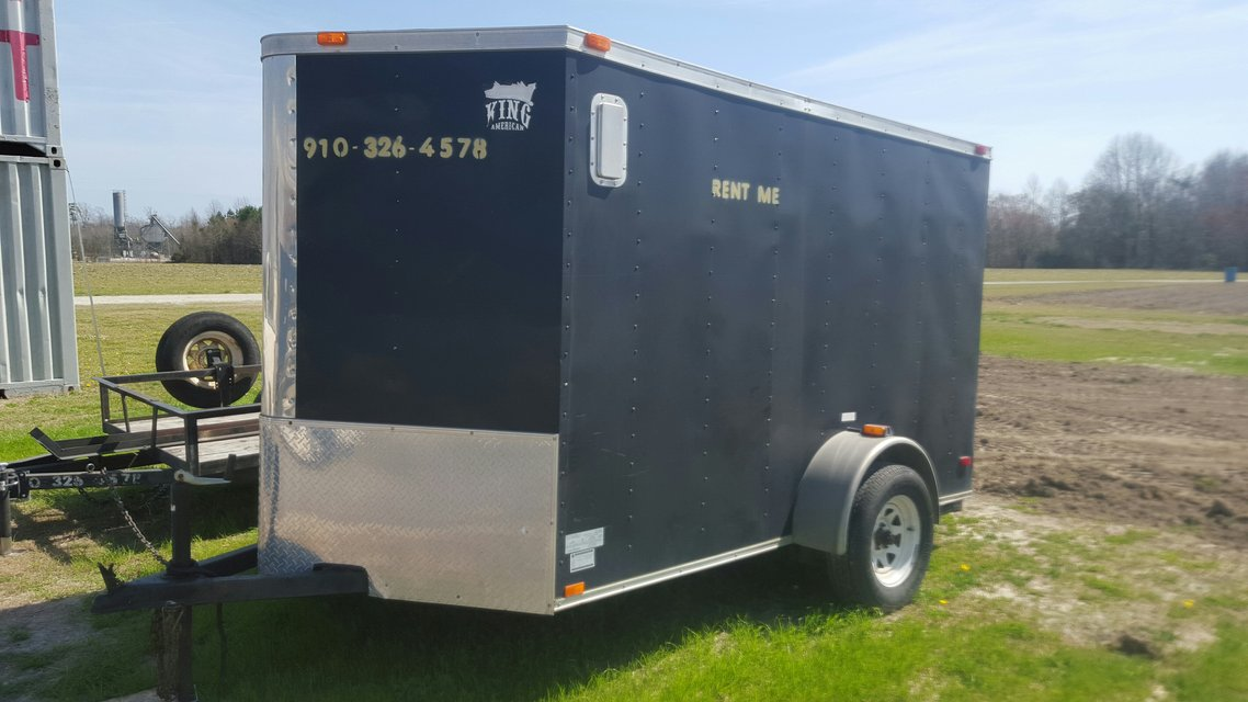 6 X 10 ENCLOSED TRAILER 2 INCH BALL Available at 3100