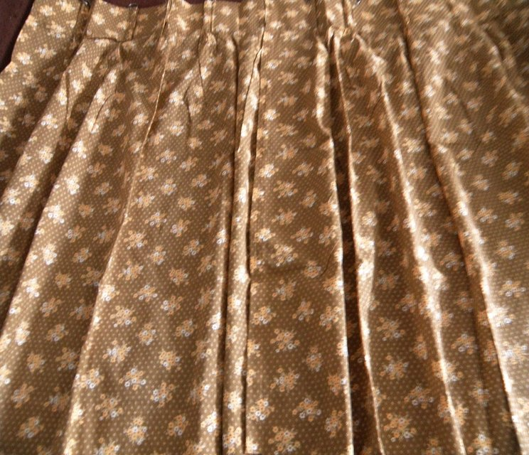 Curtains Ideas 36 inch cafe curtains : 36 Inch Long Pinch Pleated Toast/Blue 100% Cotton Cafe Curtains ...