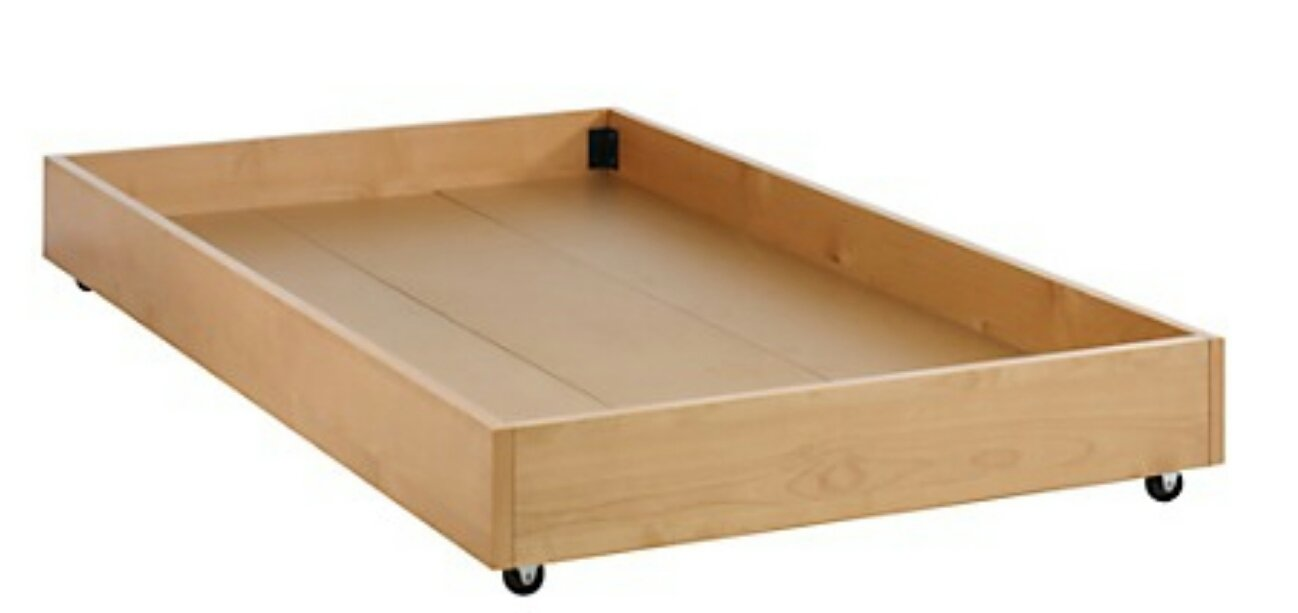 Trundle Bed Twin With Casters Furniture Home By Owner For Sale On Naperville Bookoo