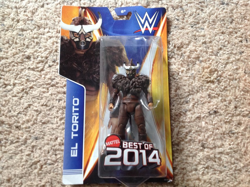 WWE El Torito - NEW   Toys & Games for sale on Lejeune bookoo!