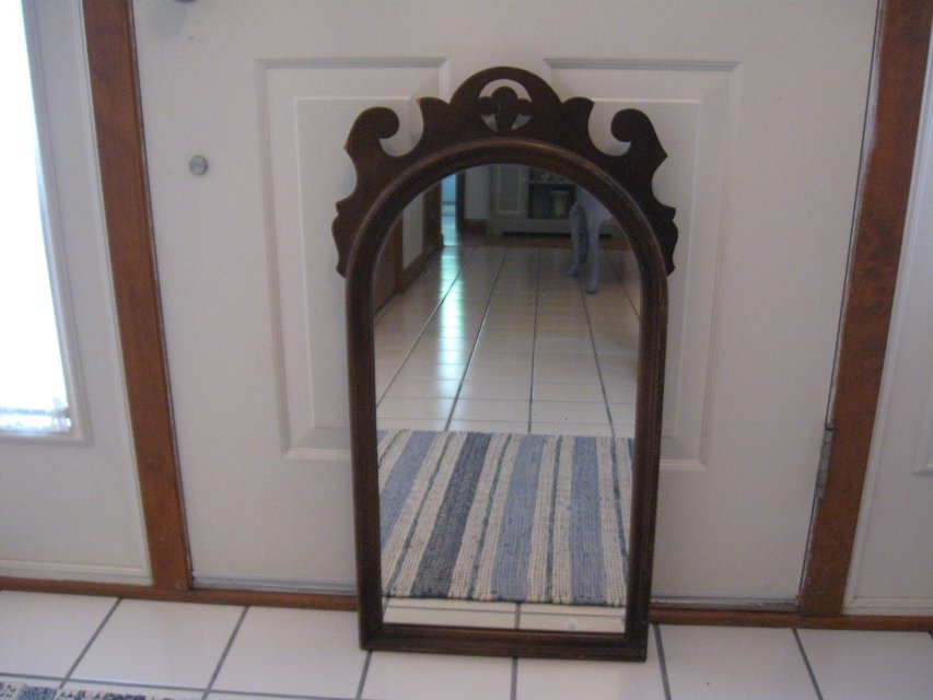 Cute Wood Vintage Arch Mirror Home Decor For Sale On Naperville Bookoo