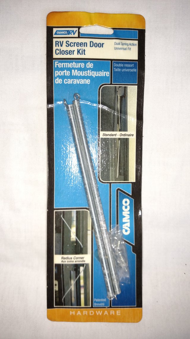 New RV Screen Door Closer Kit   Camping for sale on Robins ...