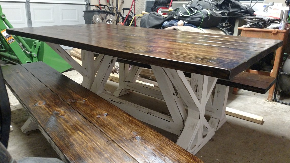 Farmhouse Dining Tables Furniture Home By Owner For Sale On Kingwood Bookoo