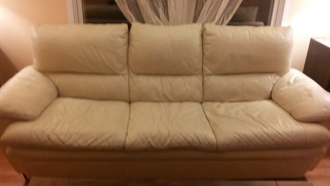Sofa Leather Furniture Home By Owner For Sale On Naperville Bookoo