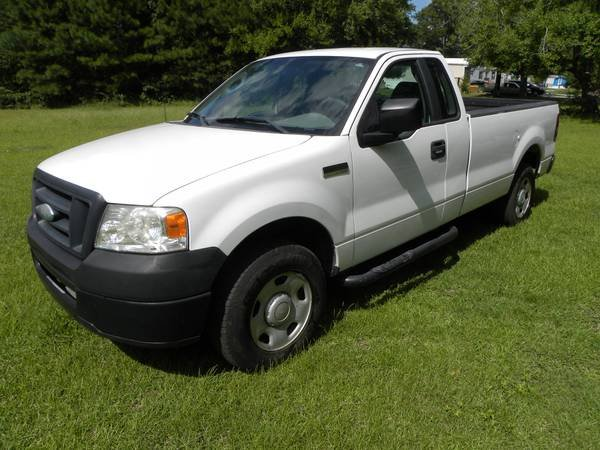 2007 ford f150 4x4 longbed work truck trucks for sale on lejeune bookoo. Black Bedroom Furniture Sets. Home Design Ideas