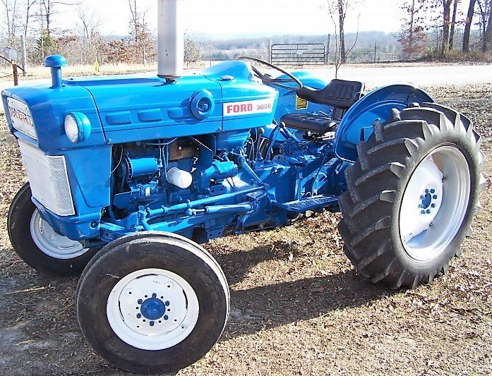 Ford 3000 Farm Tractor : Ford c farm tractor agricultural all