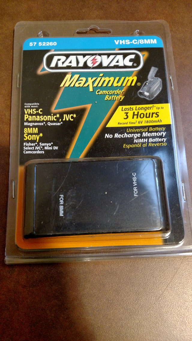 Rayovac Maximum Camcorder Batteries T 12 Photo Video For Sale On Fort Campbell Bookoo
