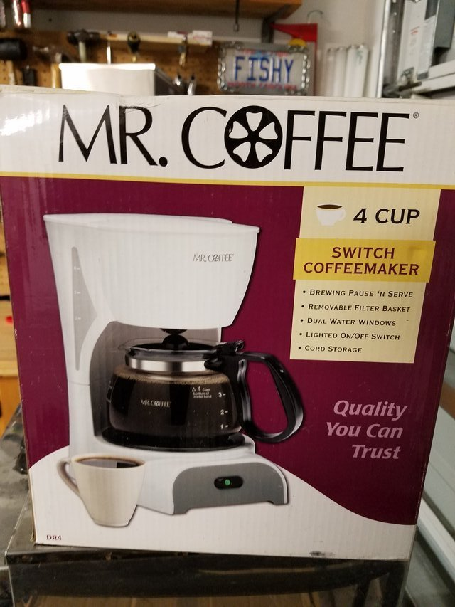 Mr Coffee 4 Cup Coffee Maker Appliances For Sale On Lejeune Bookoo