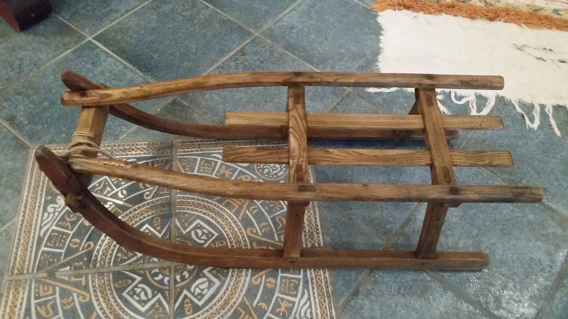 Hand made antique sled antiques by owner for sale on for Vintage sleds