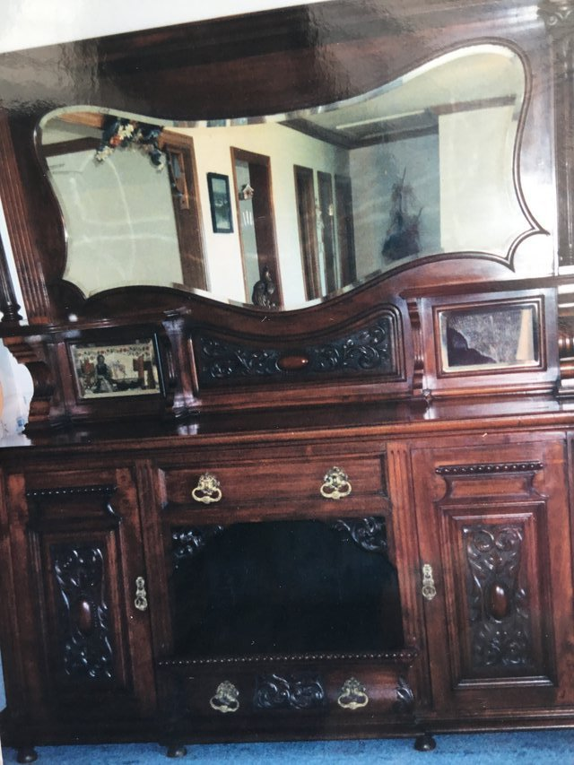 Antique Sideboard w Hutch | Furniture: Home - by owner for ...