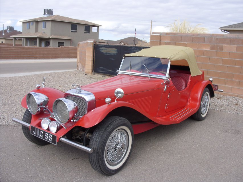 1937 Jaguar Kit Car | Cars for sale on Holloman bookoo!