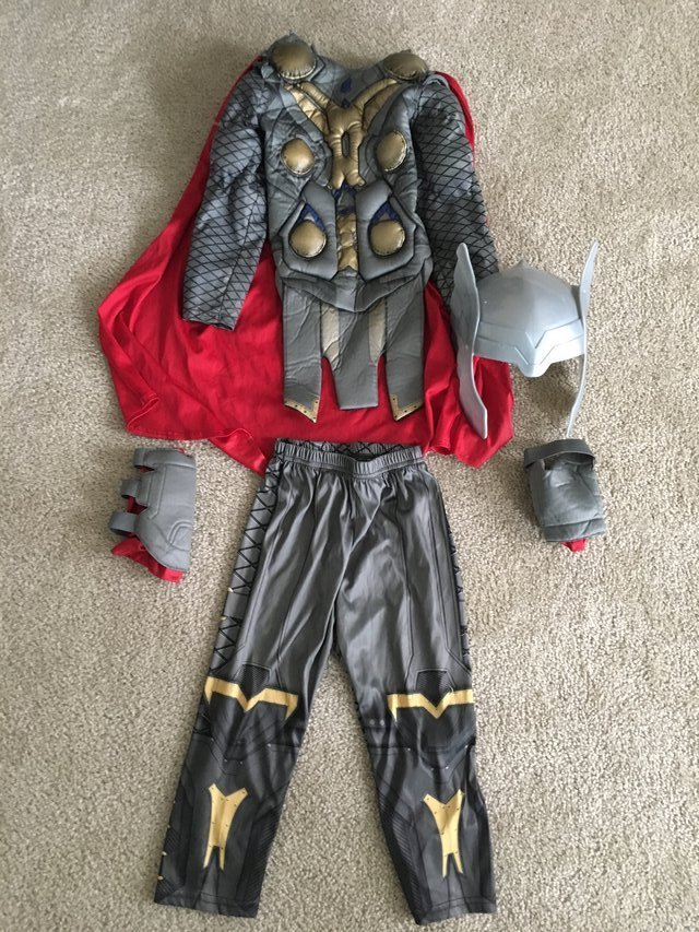 Disney Thor costume size 4 in Naperville & Disney Thor costume size 4 | Clothing: Kids for sale on Naperville ...