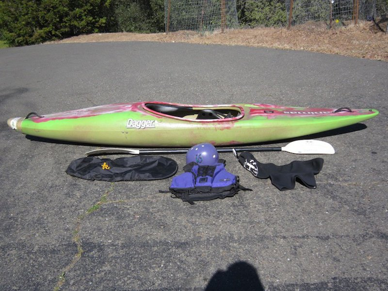 Dagger Animas Whitewater Kayak W Accessories