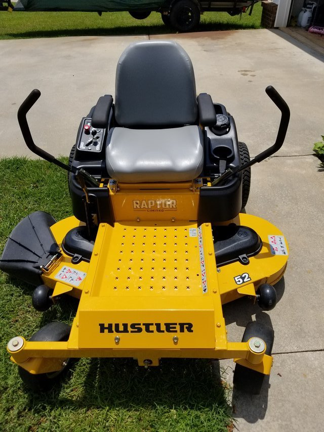 Shall afford Hustler lawn and garden for